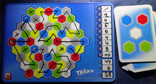 Träxx Spielsituation
