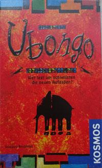 Ubongo Cover