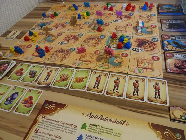 Five Tribes Spielsituation