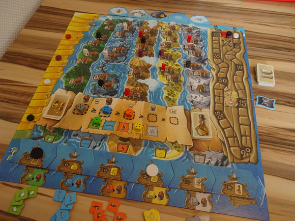 Grog Island Spielsituation