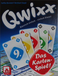 Qwixx Kartenspiel Cover