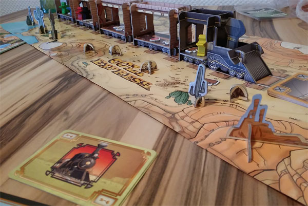 Colt Express Spielsituation