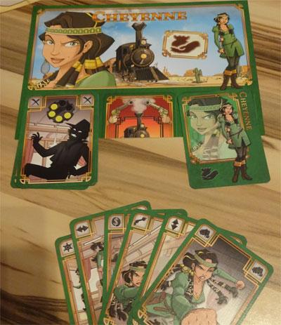 Colt Express Karten