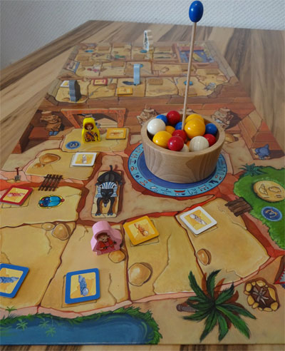 Pharaohoh Spielplan