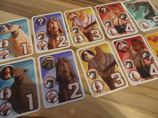 Wooolf Charakterkarten