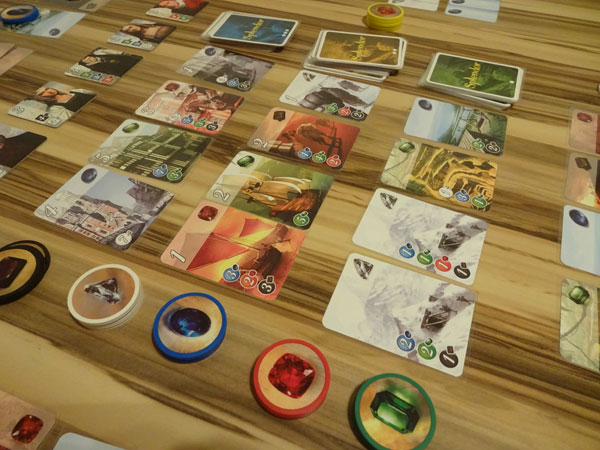 Splendor Spielsituation