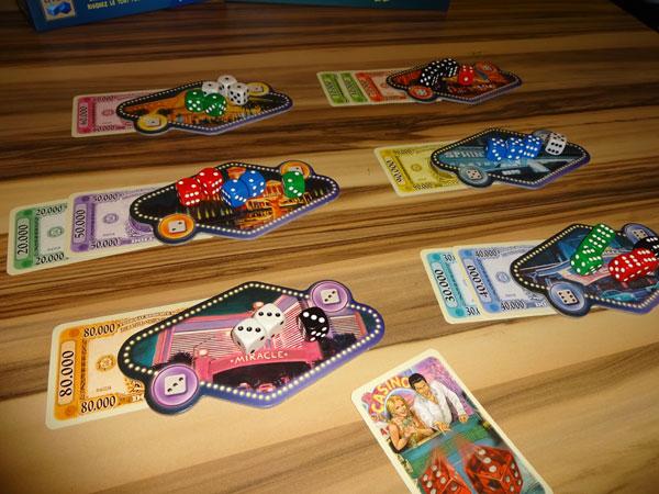 Las Vegas Spielsituation