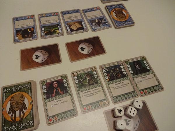 Zwerge - Das Duell Spielsituation