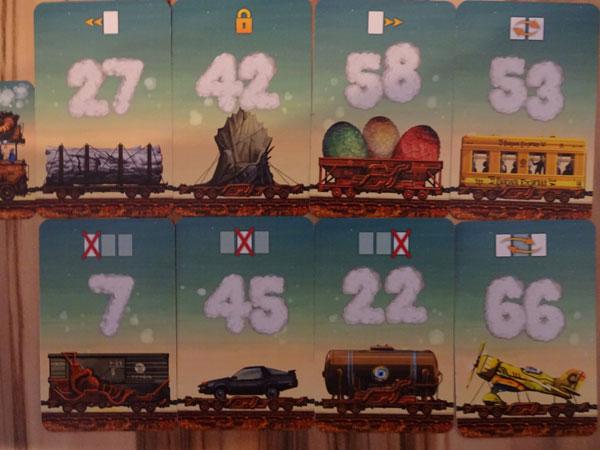 Game of Trains Karten