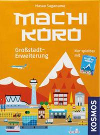 Machi Koro Großstadterweiterung Cover