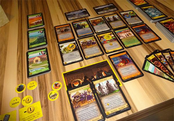 Dominion:Abenteuer Spielsituation