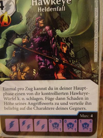 Marvel Promokarte Hawkeye