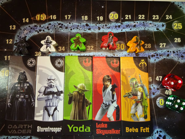Carcassonne Star Wars Charaktere