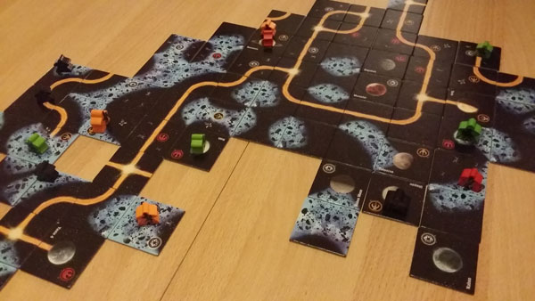 Carcassonne - Star Wars Spielsituation