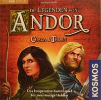 Die Legenden von Andor - Chada & Thorn Cover / Foto: Brettspielpoesie