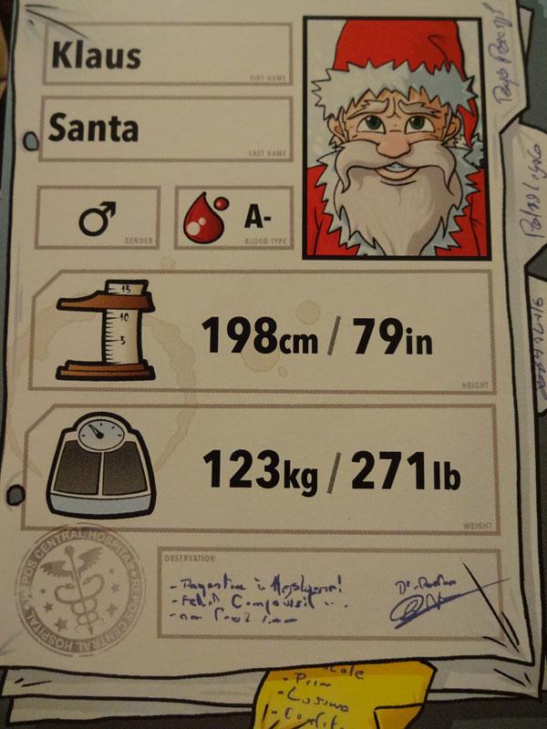 Doctor Panic Klaus Santa