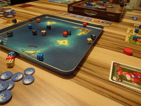 Die Piraten der 7 Weltmeere Spielsituation