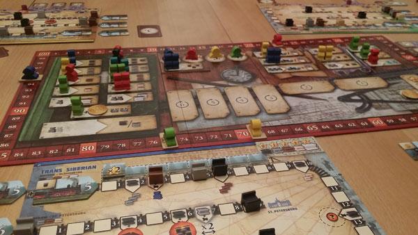 Russian Railroads Spielsituation