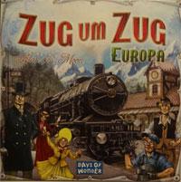 Zug um Zug: Europa Cover