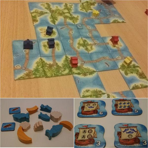Carcassonne Südsee Spielsituation