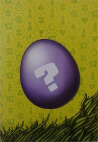 Osternest Fragezeichen