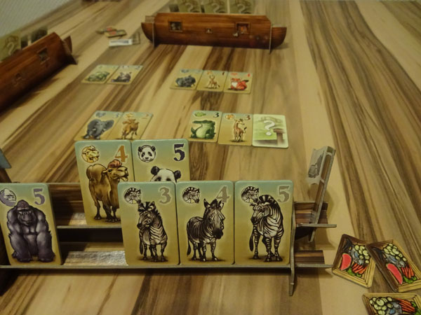 Animals on Board Spielsituation