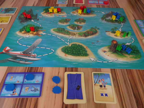 Dream Islands Spielsituation