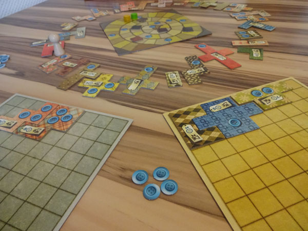 Patchwork Spielsituation