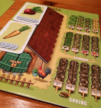 My Happy Farm Spielertableau
