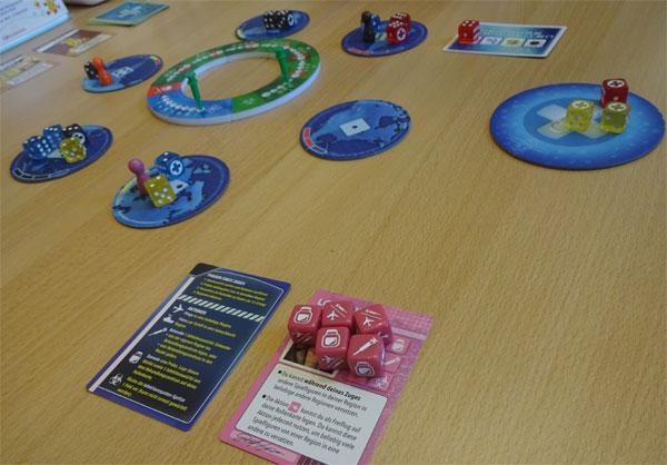 Pandemie - Die Heilung Spielsituation