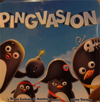 Pingvasion Cover