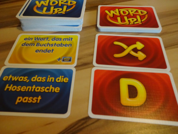 Word Up Spielsituation