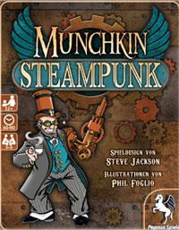 Munchkin Steampunk Cover