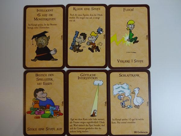 Munchkin weitere Karten