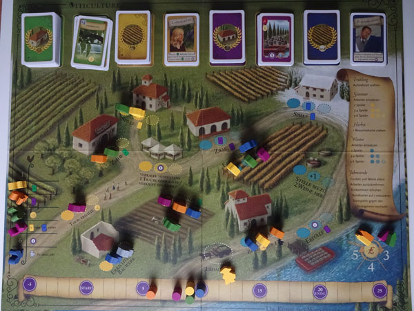 Viticulture Spielsituation