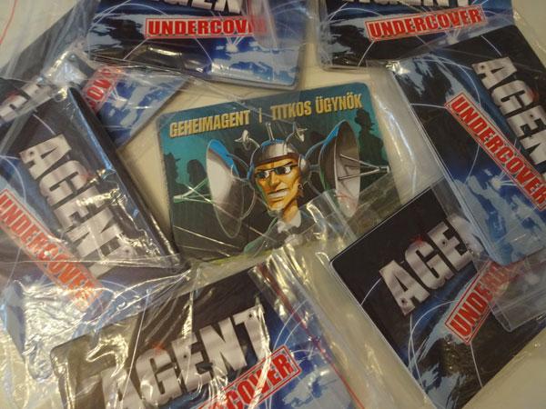 Agent Undercover Päckchen