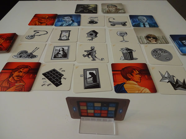 Codenames Pictures Spielsituation