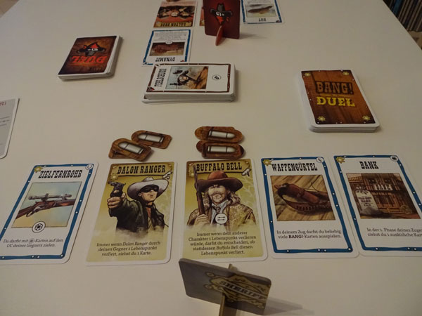 Bang - The Duel! Spielsituation