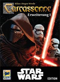 Carcassonne Star Wars Erweiterung 1 Cover