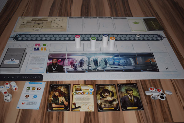 T.I.M.E Stories Spielsituation
