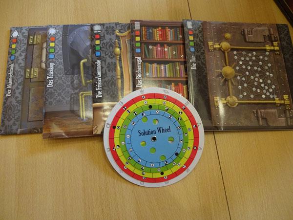 Escape the Room Spielmaterial