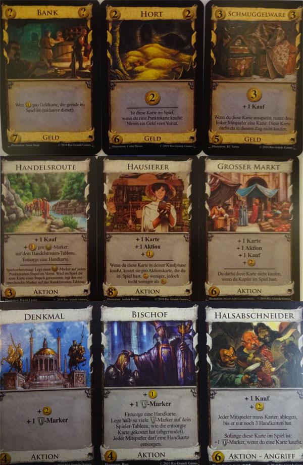 Dominion Blütezeit Karten