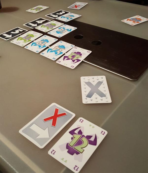 X nimmt! Spielsituation