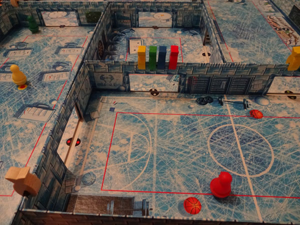 ICECOOL Spielsituation