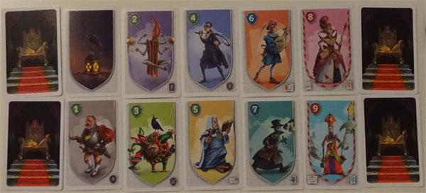 Im Schatten des Throns Spielkarten