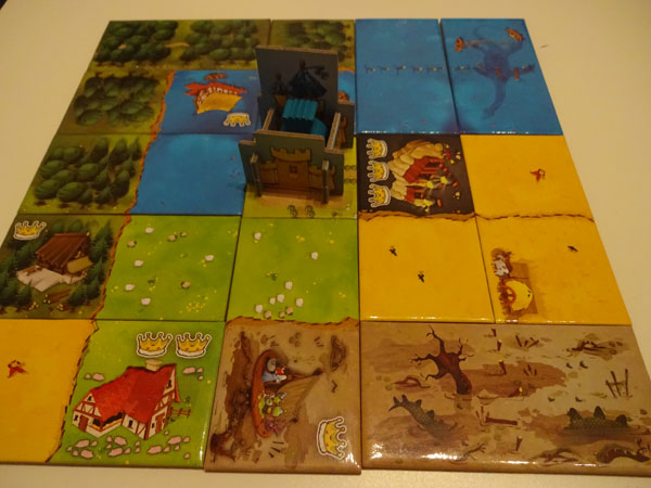 Kingdomino Spielsituation