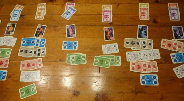 Las Vegas Kartenspiel Spielsituation