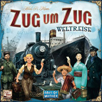 Zug um Zug Weltreise Cover