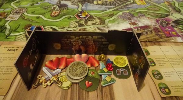 Touria Spielmaterial