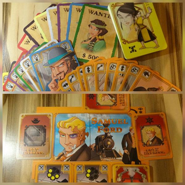 Colt Express -Marshal & Gefangene Spielkarten